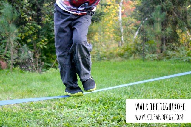 Walk the tightrope