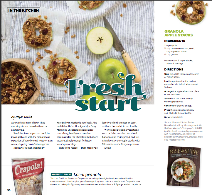 April Recipe Feature - Megan Devine