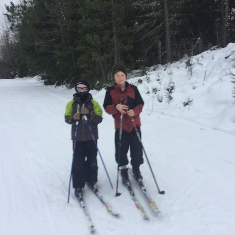 First ski 2