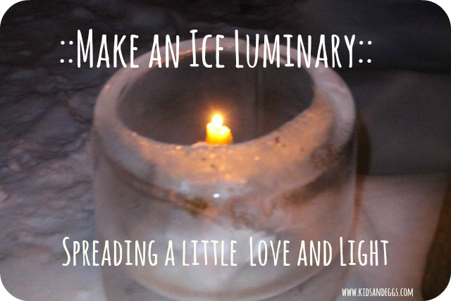 Ice luminary