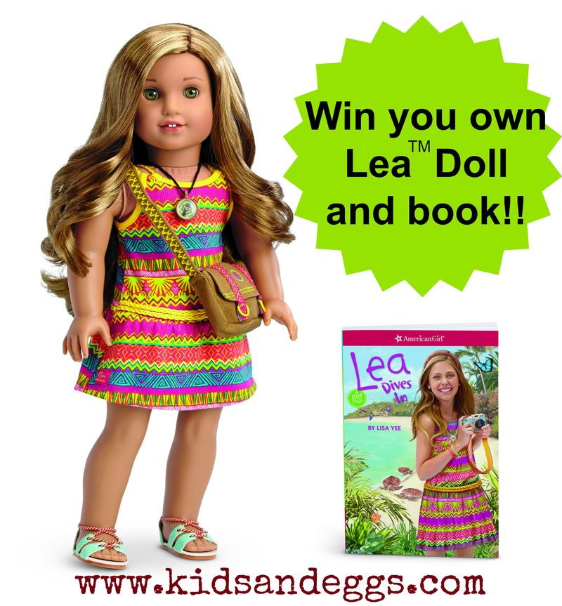 Lea Doll and Book Giveaway