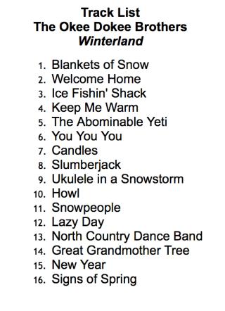 Winterland Track List