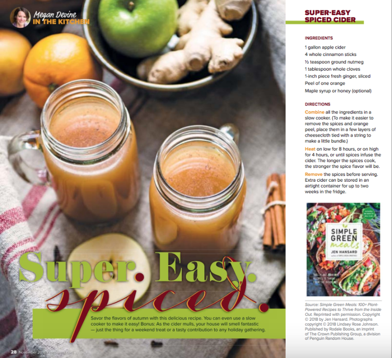 Minnesota Parent - Megan Devine - spiced cider recipe
