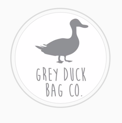 Grey Duck Bag Logo