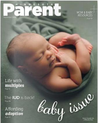 Minnesota Parent September - Cover