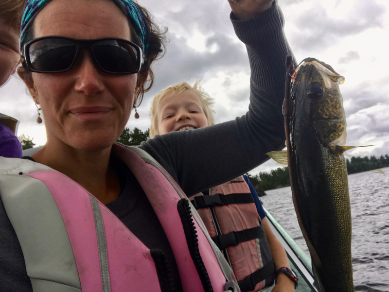 Fishing with Mom - 1